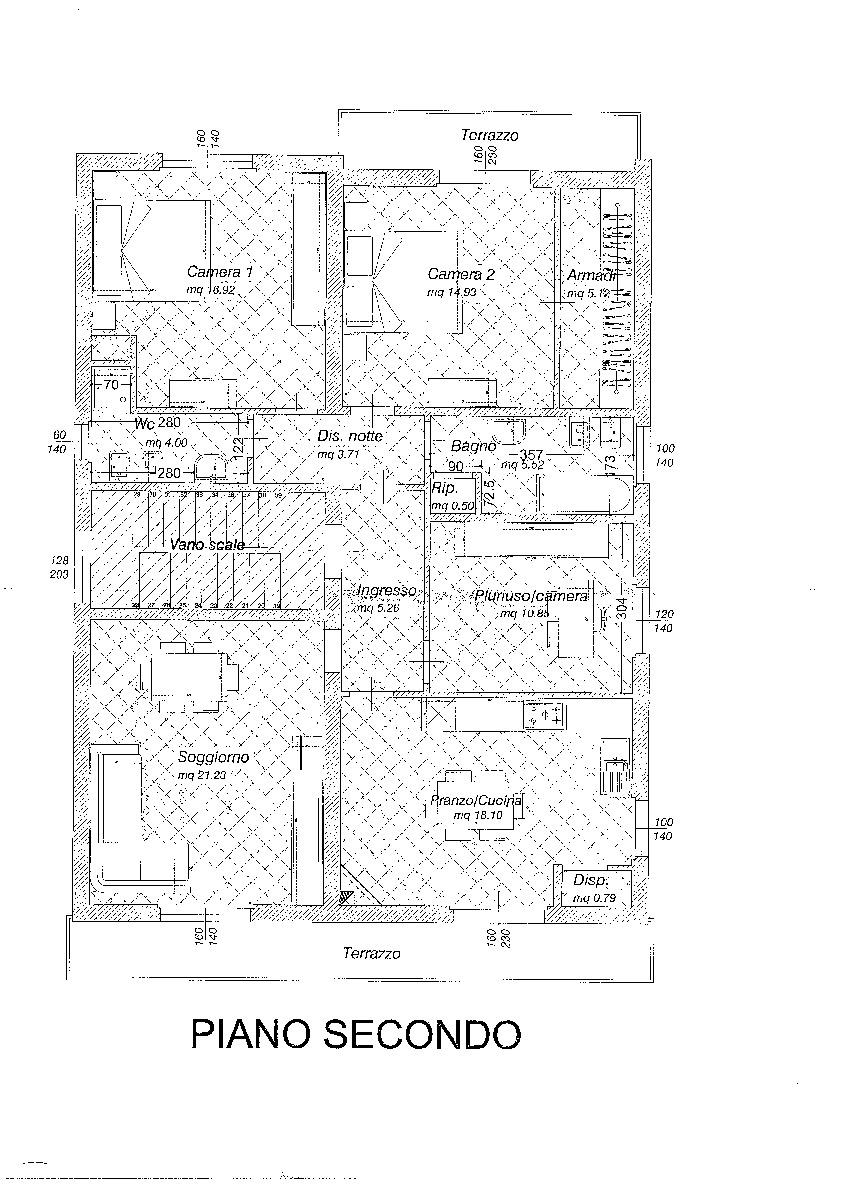 Planimetria 1/1 per rif. S1418