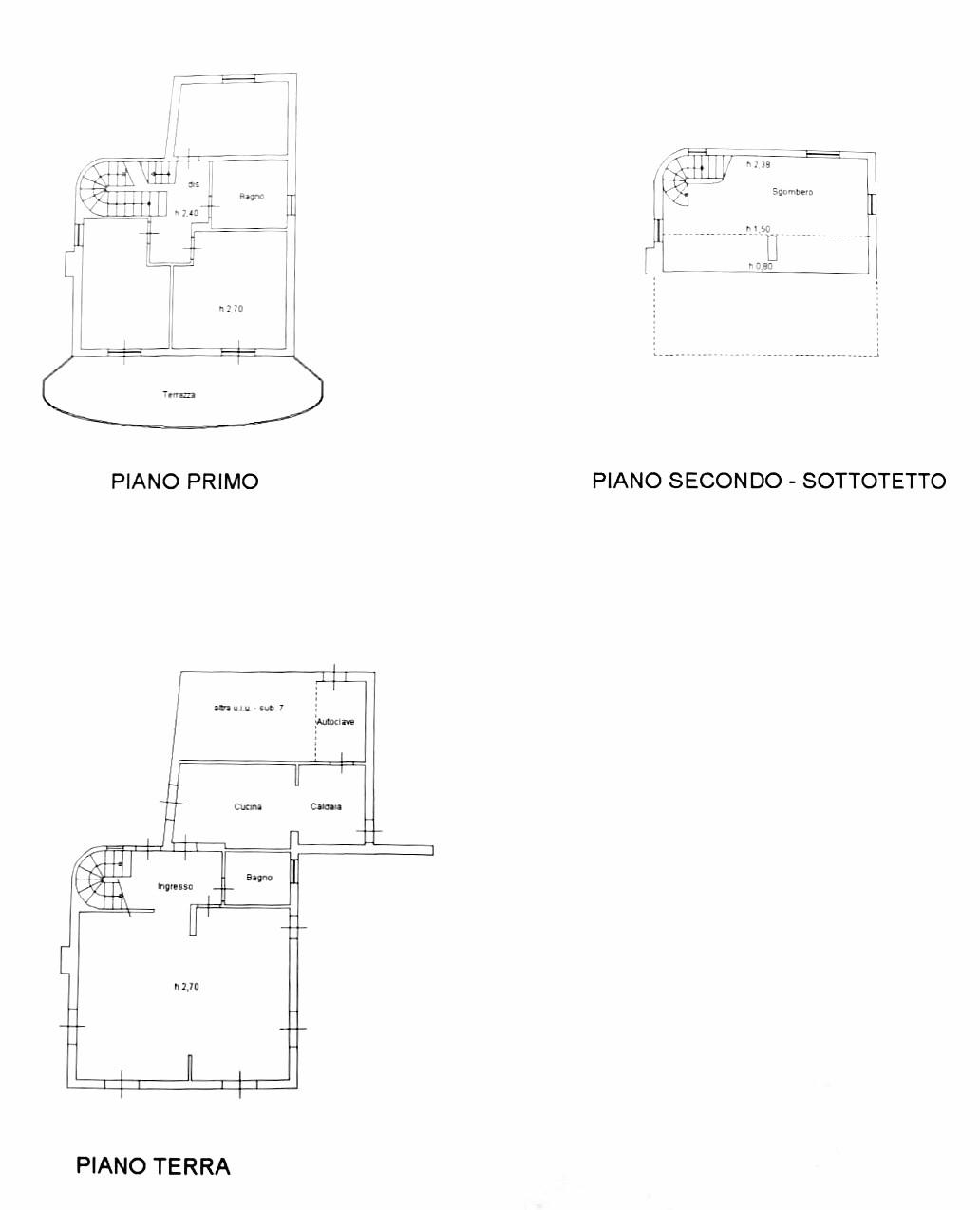 Planimetria 1/1 per rif. S1548