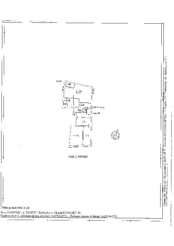 Planimetria 1/1 per rif. AA1518