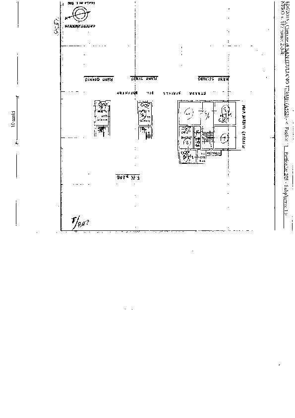 Planimetria 1/1 per rif. S2194