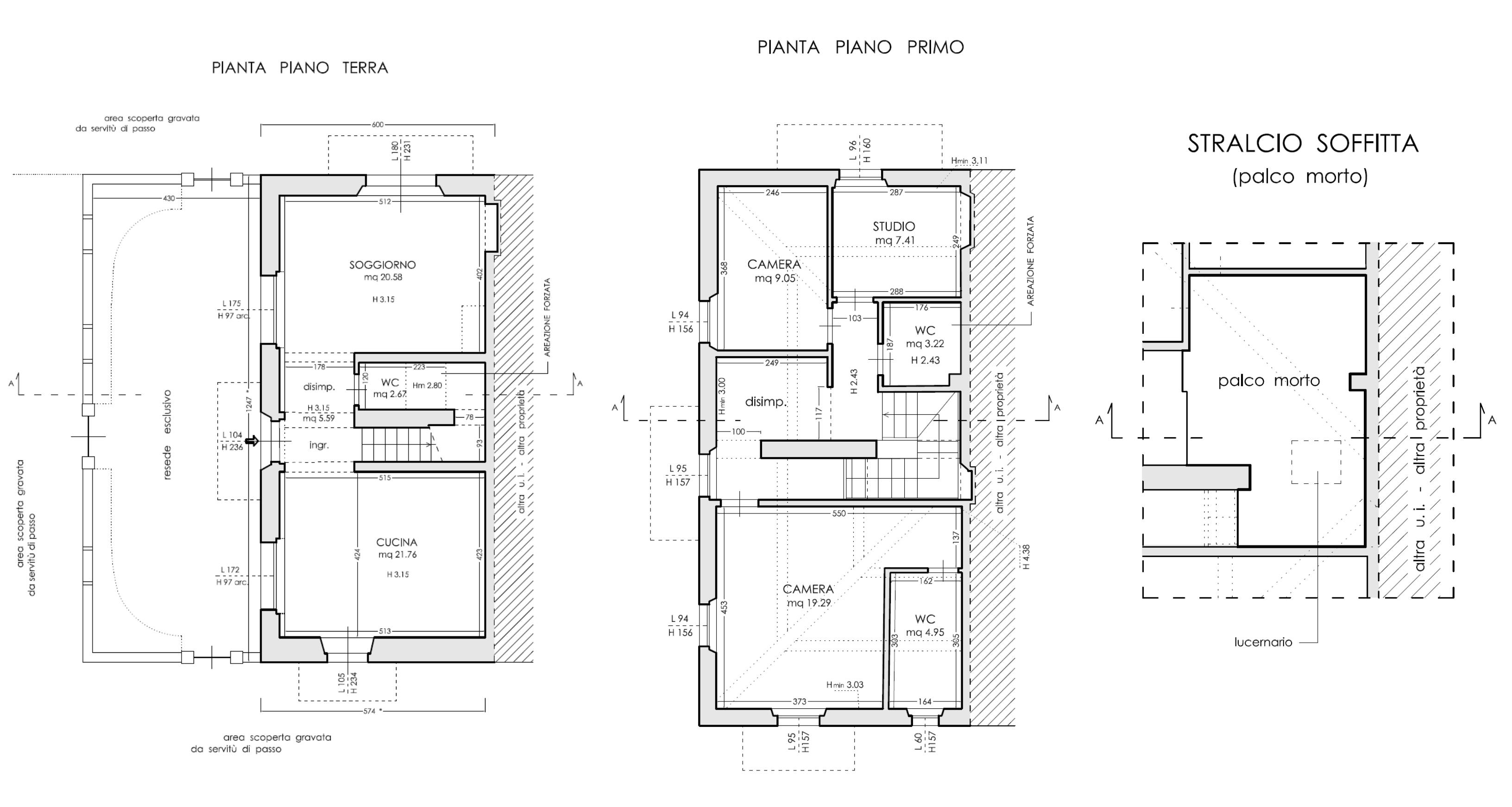 Planimetria 1/1 per rif. D2251