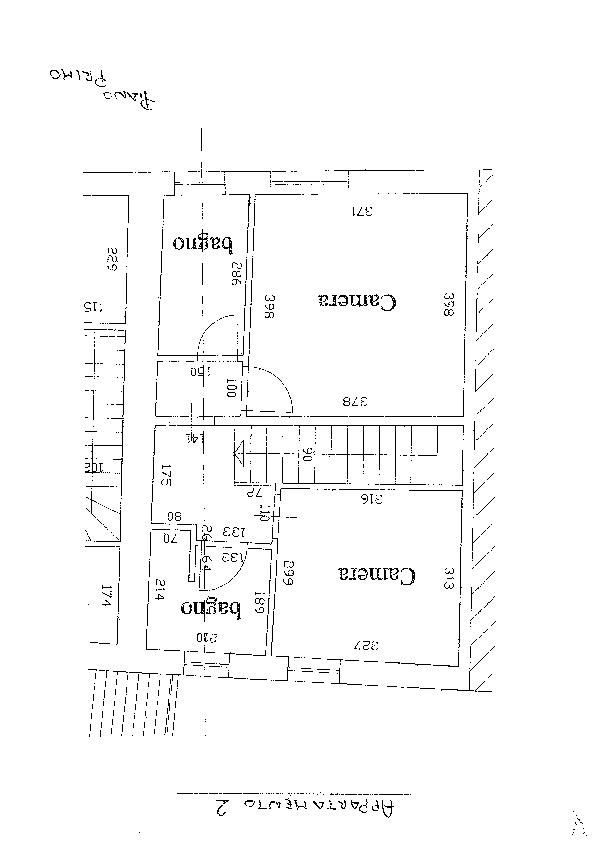 Planimetria 2/3 per rif. D1572