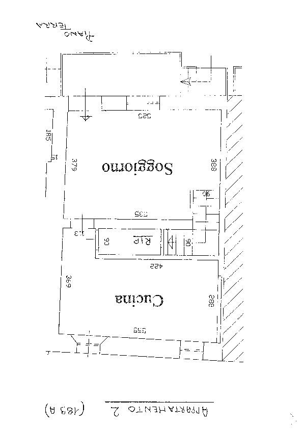 Planimetria 1/3 per rif. D1572