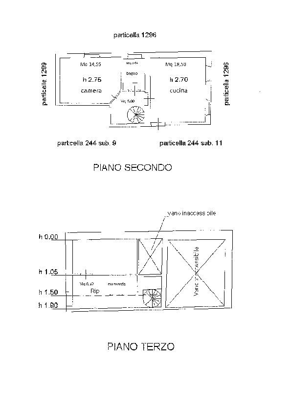 Planimetria 1/1 per rif. D2232