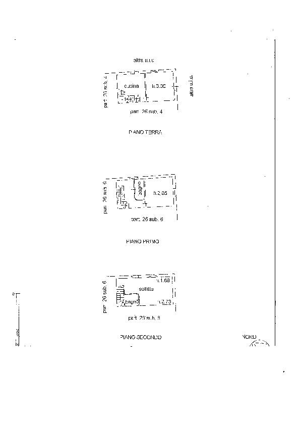 Planimetria 1/1 per rif. S2121