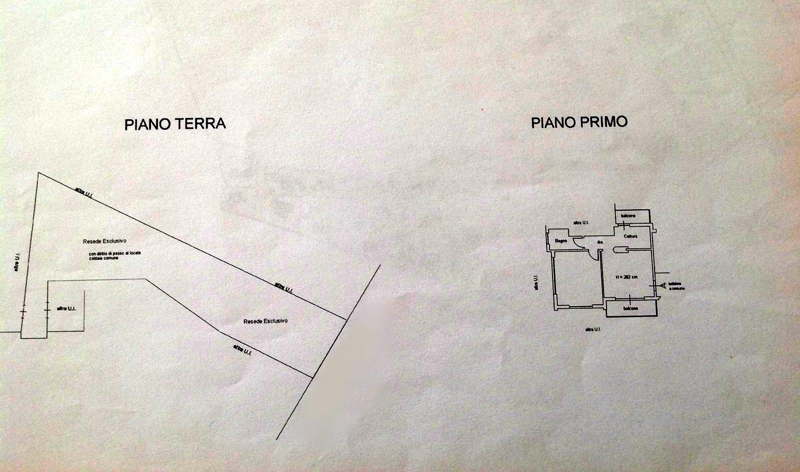 Planimetria 1/1 per rif. D2139