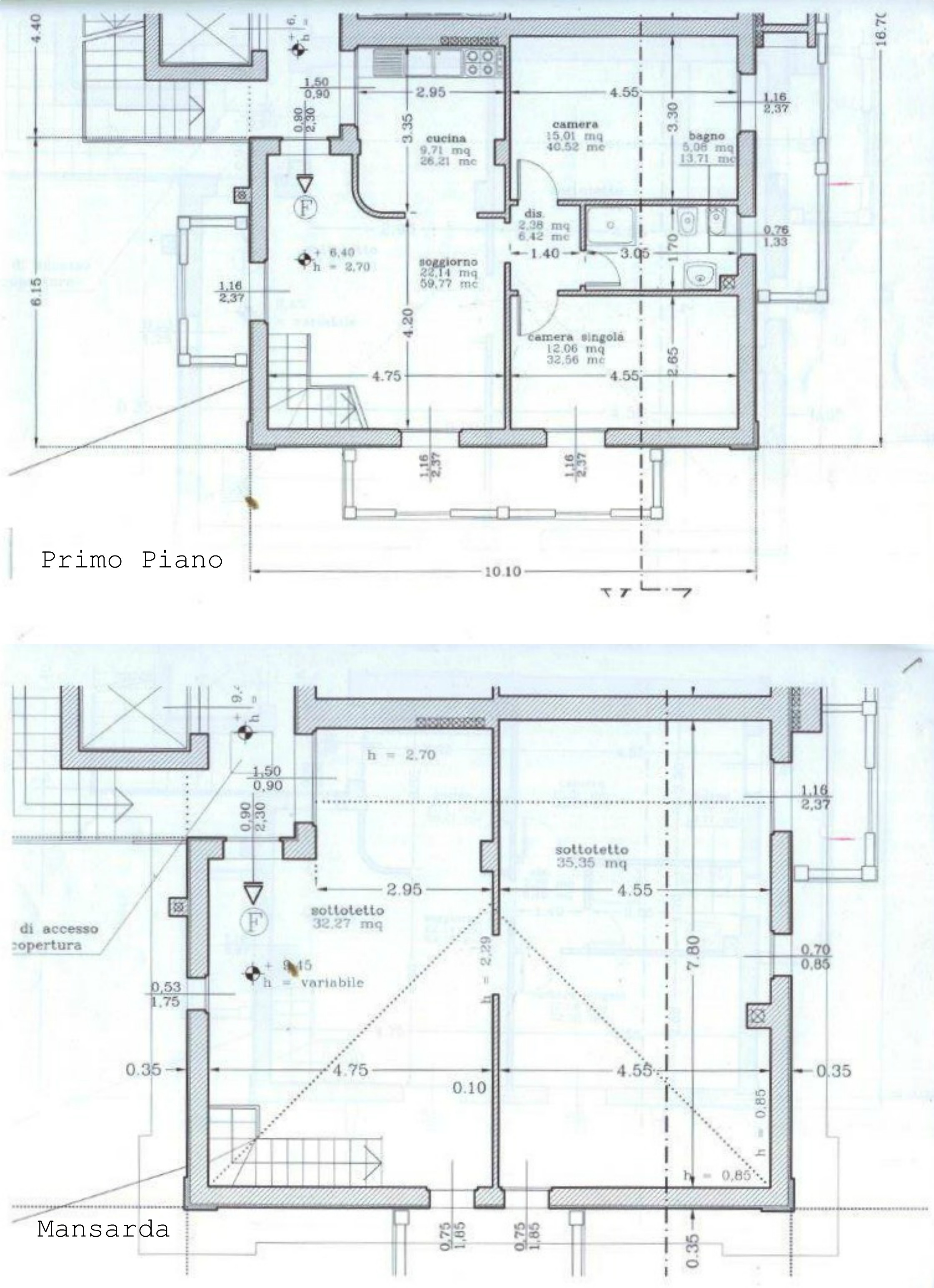 Planimetria 1/1 per rif. AA2135