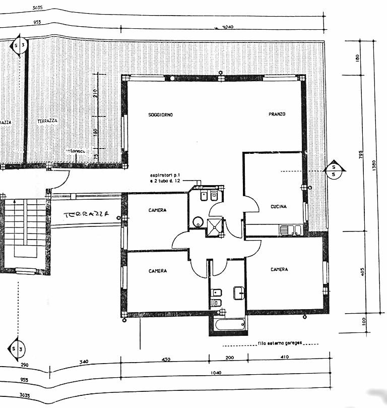 Planimetria 1/1 per rif. D2197