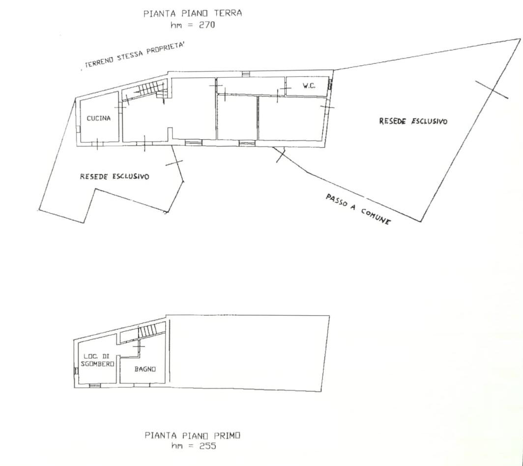 Planimetria 1/1 per rif. B2130