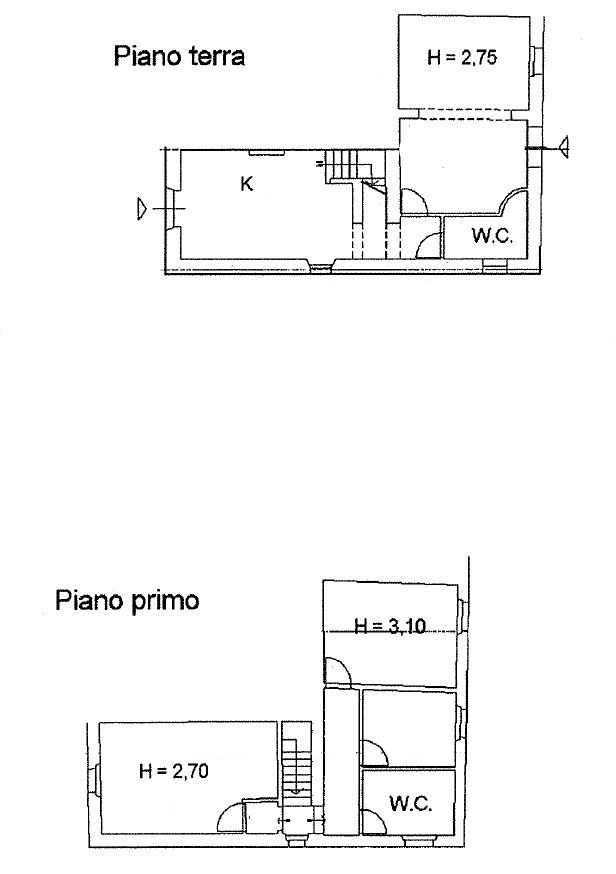 Planimetria 1/1 per rif. B2134