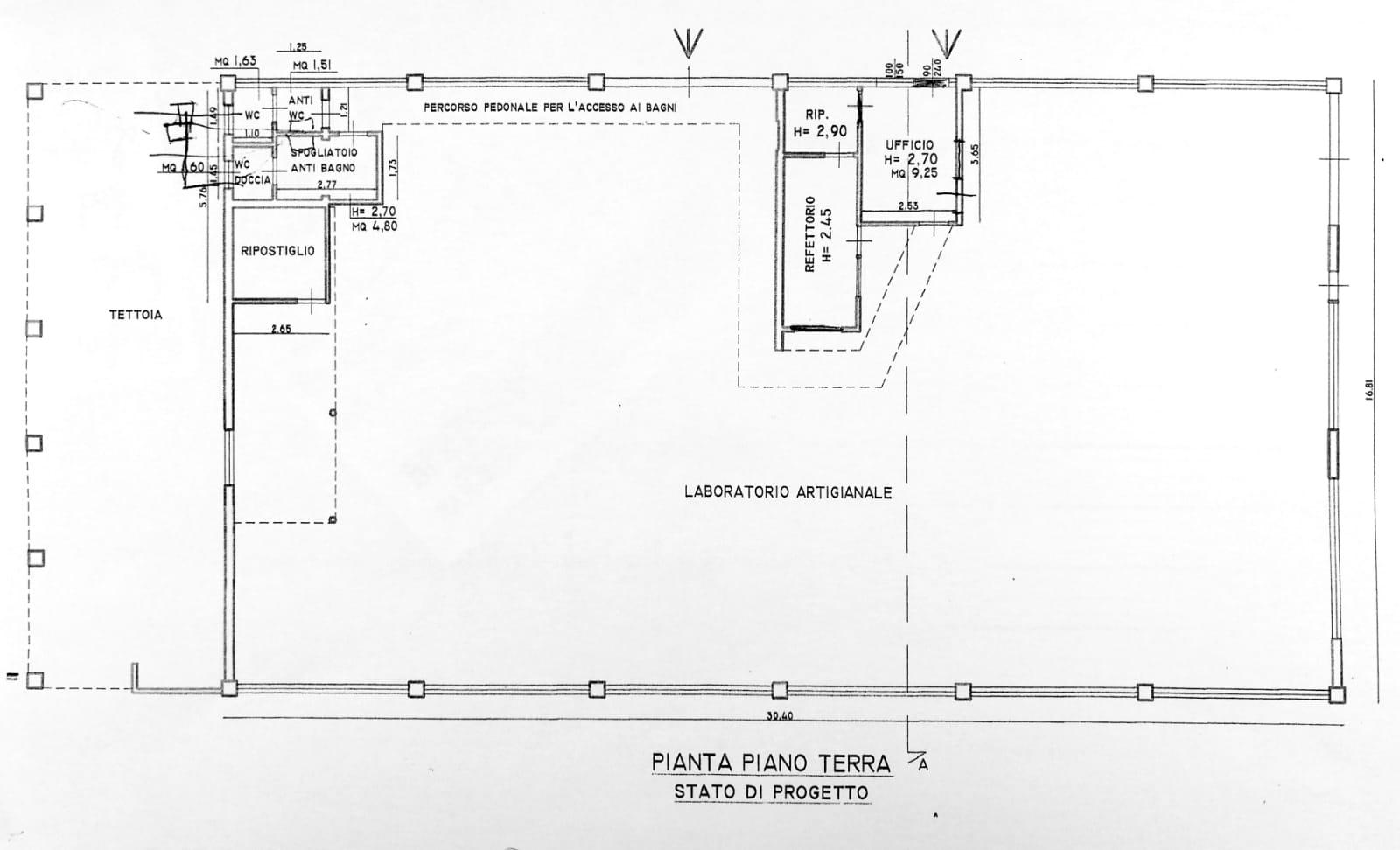 Planimetria 1/1 per rif. S2142