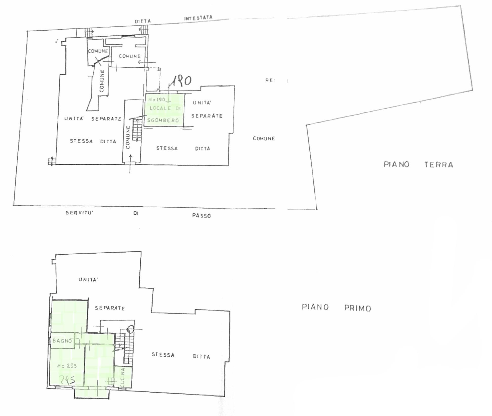 Planimetria 1/1 per rif. D2199