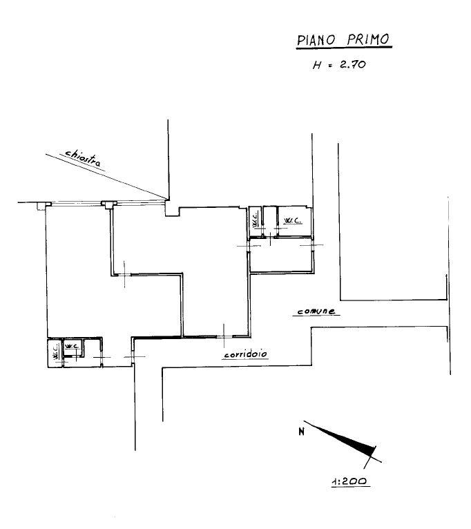 Planimetria 1/1 per rif. S2141