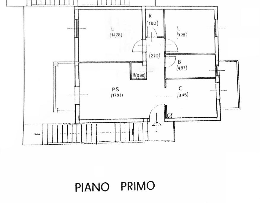 Planimetria 1/1 per rif. D2255