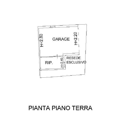Planimetria 2/2 per rif. D2153