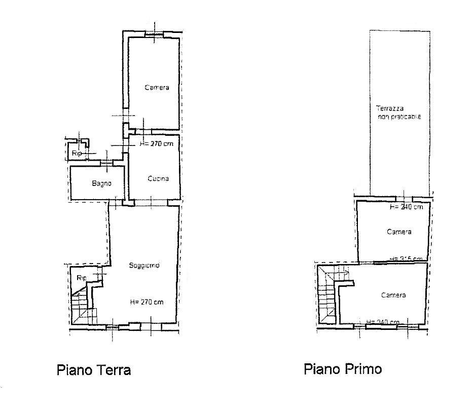 Planimetria 1/1 per rif. D2154