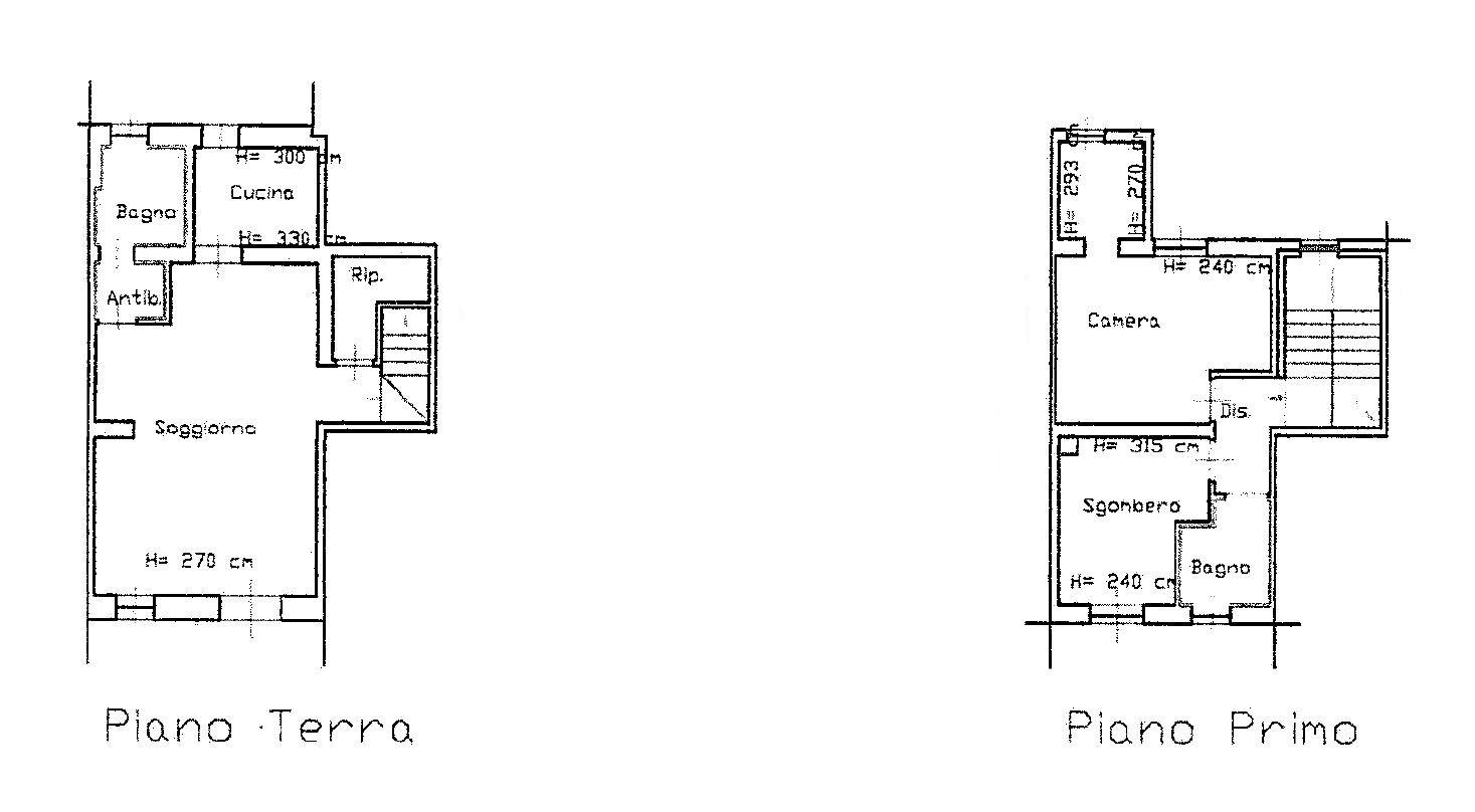 Planimetria 1/1 per rif. D2155