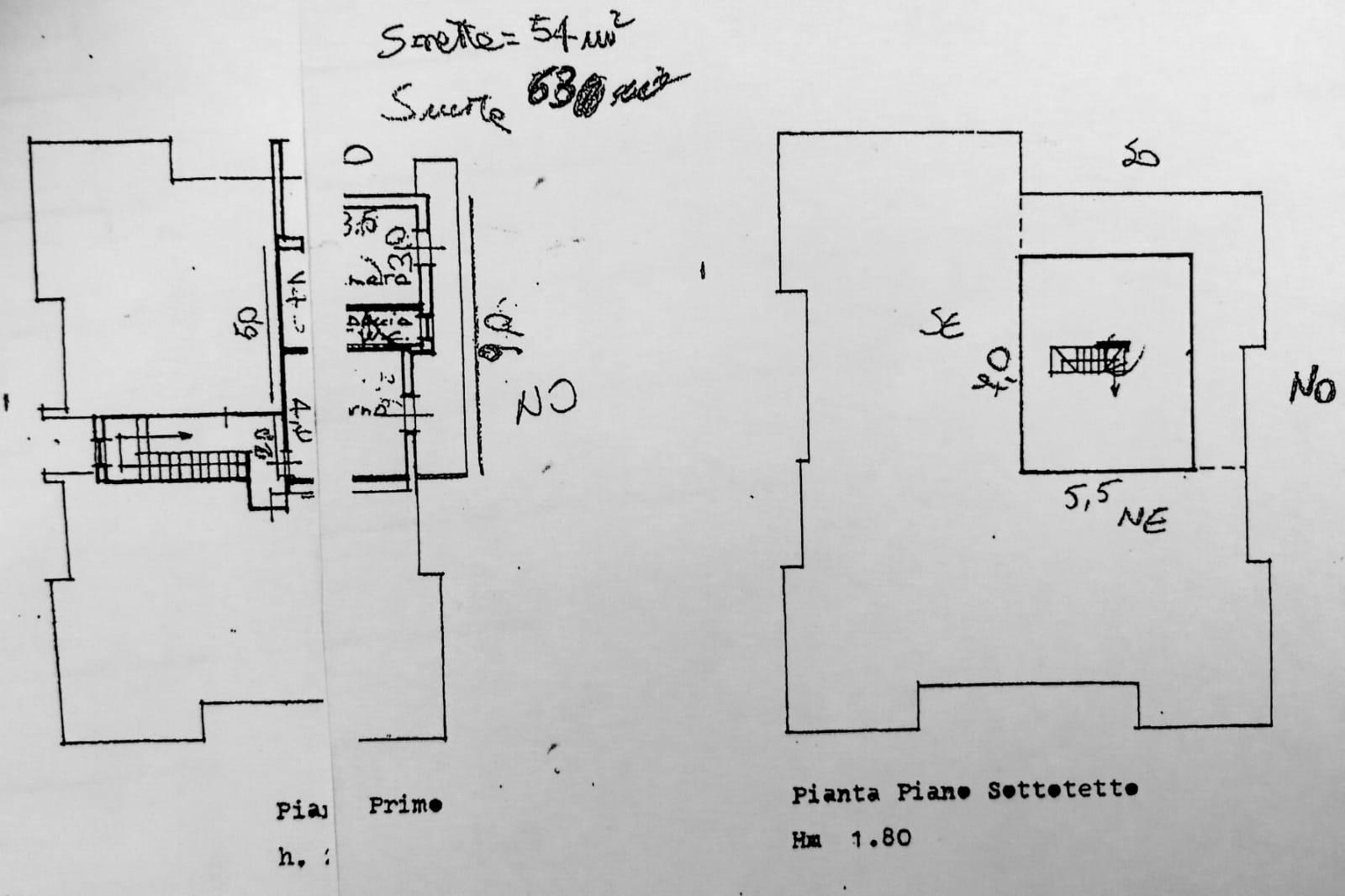 Planimetria 1/1 per rif. D2164