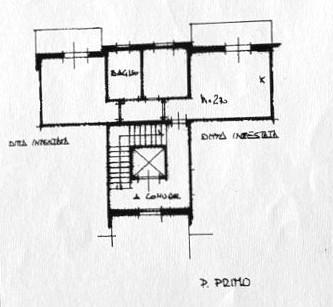 Planimetria 1/1 per rif. D2165