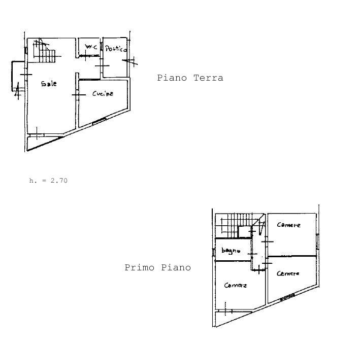 Planimetria 1/1 per rif. B2137