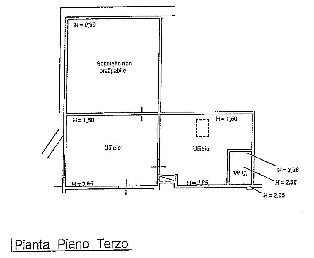 Planimetria 1/1 per rif. S2155