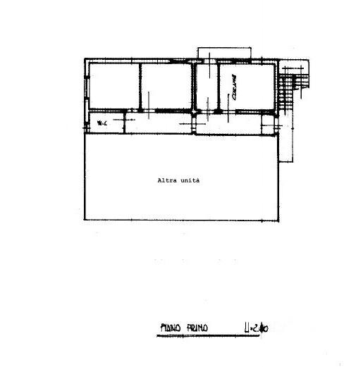 Planimetria 1/1 per rif. S2160