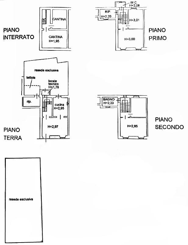 Planimetria 1/1 per rif. D2170