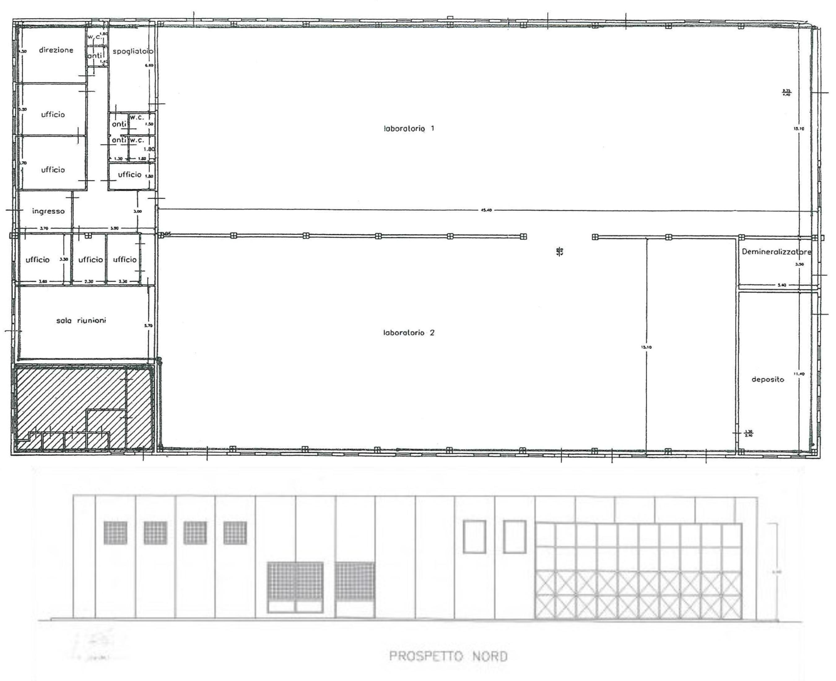 Planimetria 1/1 per rif. B2138