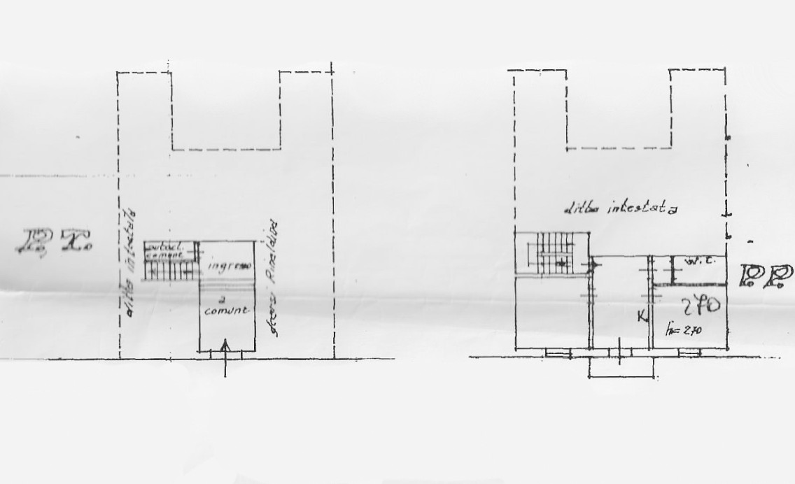 Planimetria 1/1 per rif. G2179