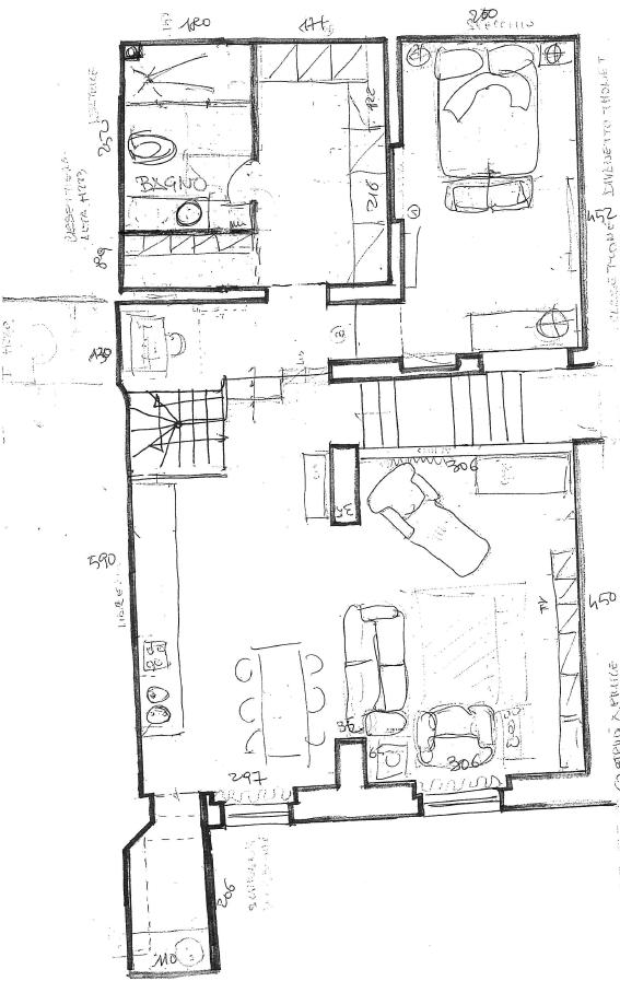 Planimetria 3/4 per rif. G2180