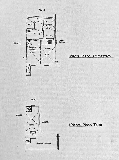 Planimetria 1/4 per rif. G2180