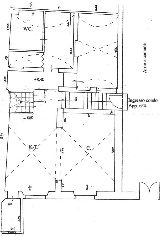 Planimetria 2/4 per rif. G2180