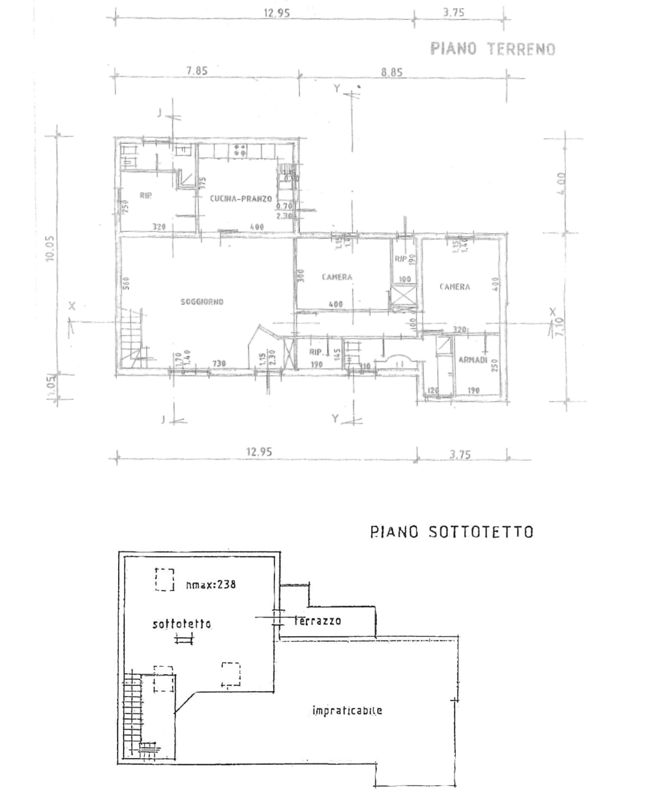 Planimetria 1/1 per rif. S2201