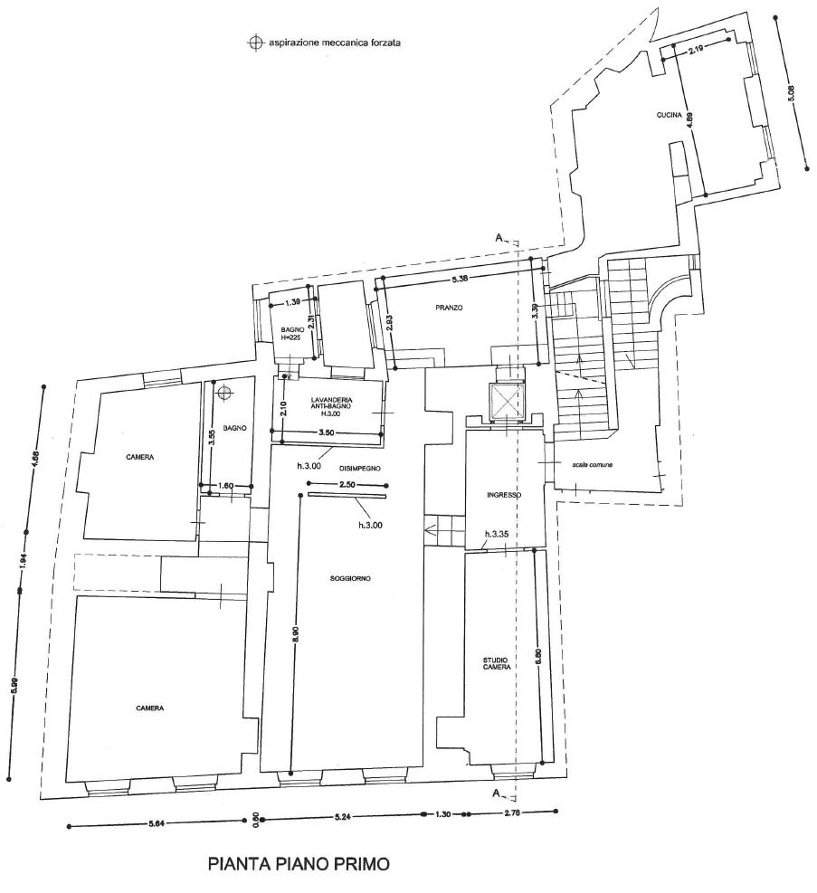 Planimetria 1/1 per rif. D2268