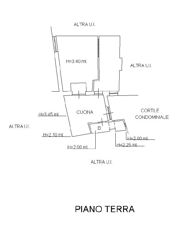 Planimetria 1/1 per rif. D2203