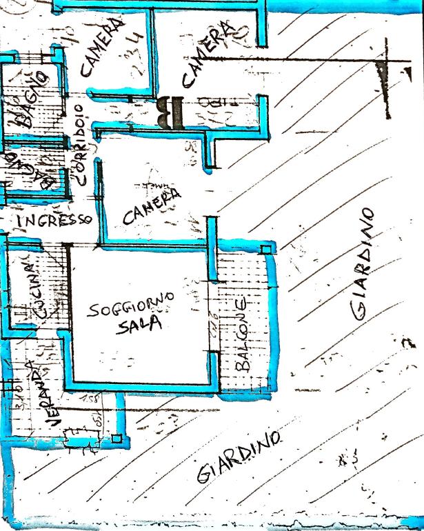 Planimetria 1/1 per rif. D2204