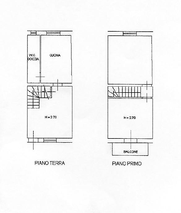 Planimetria 1/1 per rif. D2205