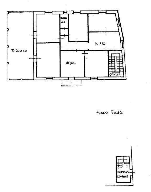 Planimetria 1/1 per rif. D2214