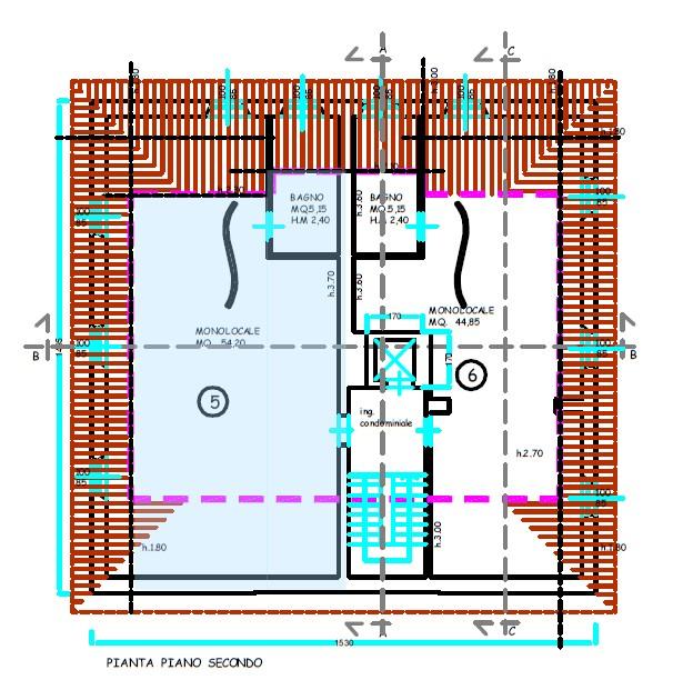 Planimetria 1/1 per rif. S2221