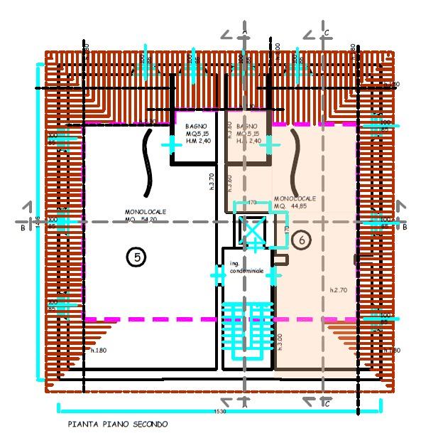 Planimetria 1/1 per rif. S2222