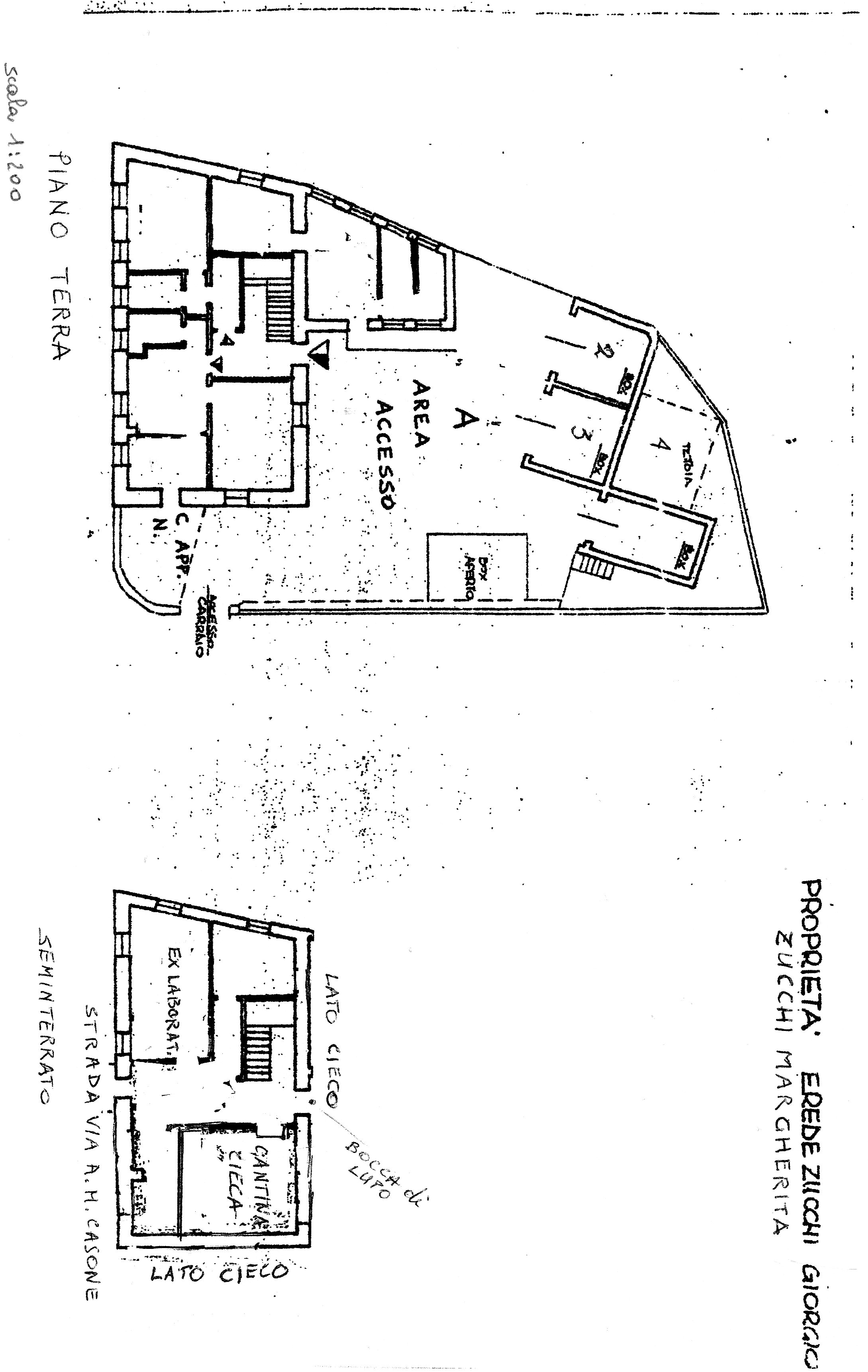 Planimetria 2/2 per rif. G2181