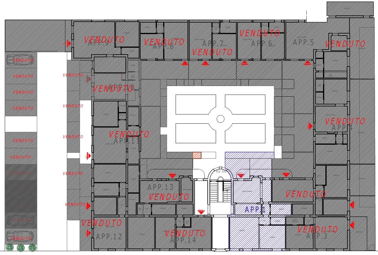 Planimetria 2/2 per rif. S2224