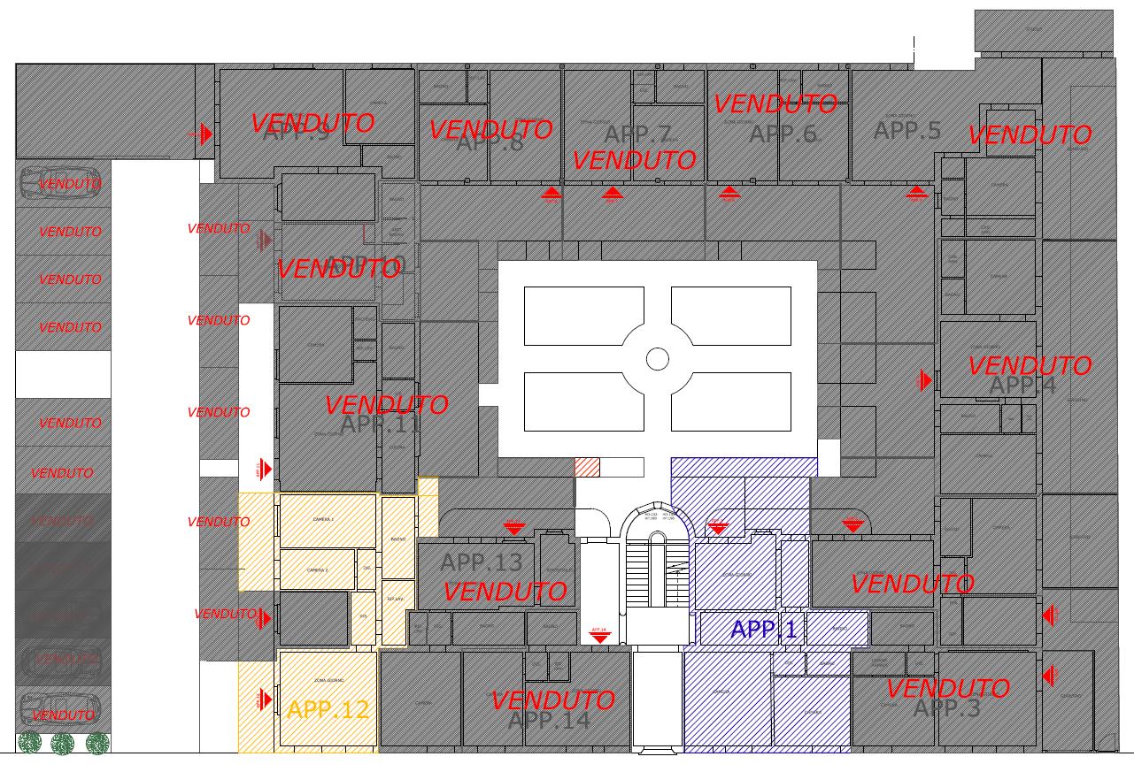 Planimetria 1/1 per rif. S2224