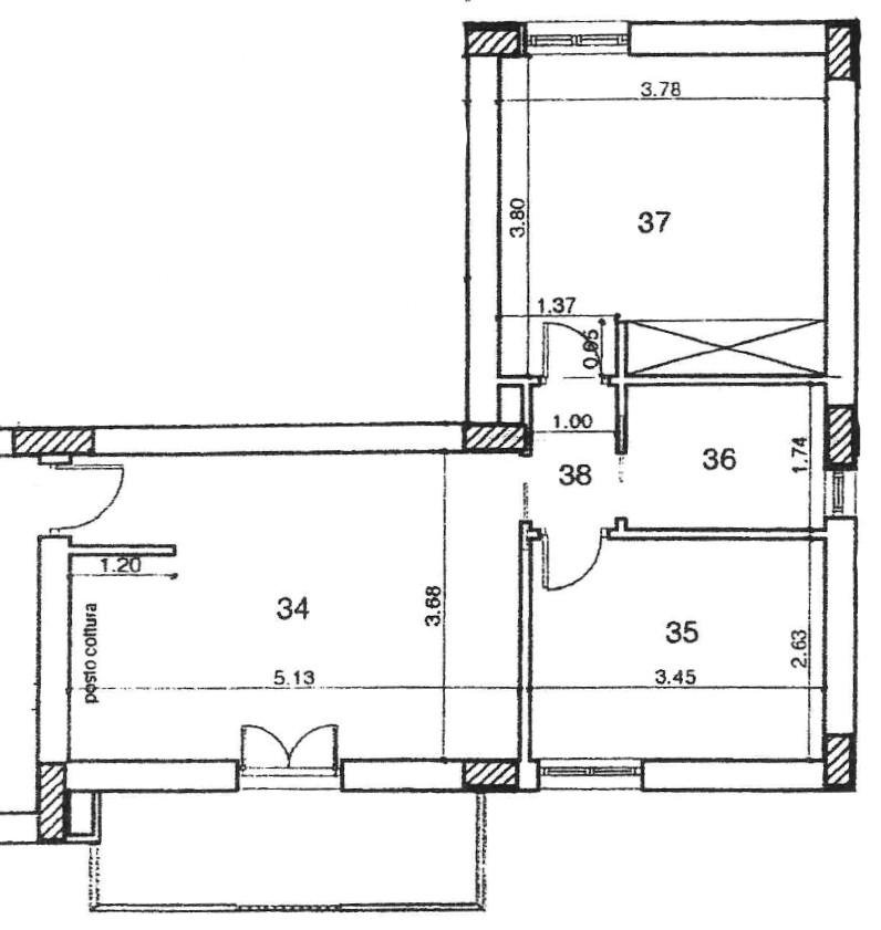 Planimetria 1/1 per rif. D2219