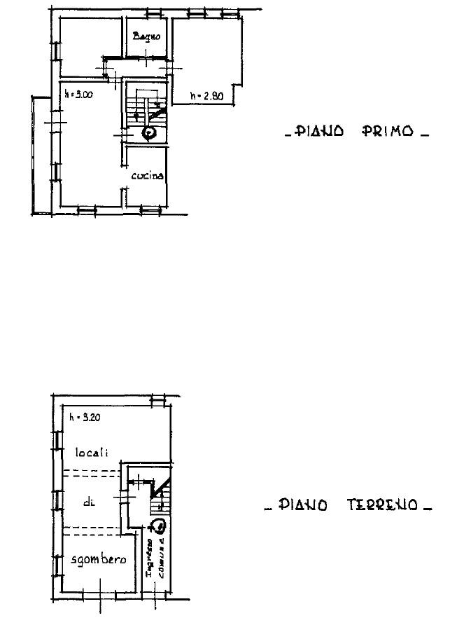 Planimetria 2/3 per rif. S2238