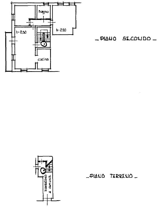 Planimetria 1/3 per rif. S2238