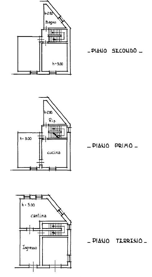 Planimetria 1/4 per rif. S2239