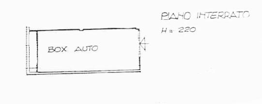 Planimetria 2/2 per rif. D2221