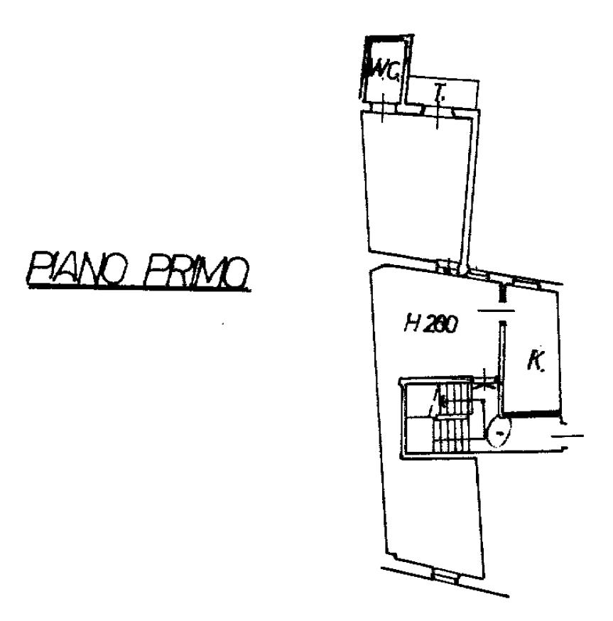 Planimetria 1/1 per rif. G2235