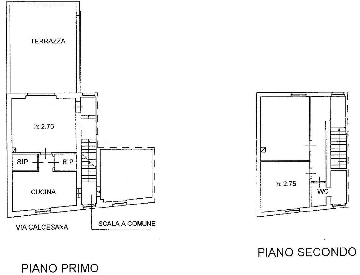 Planimetria 1/1 per rif. S2259